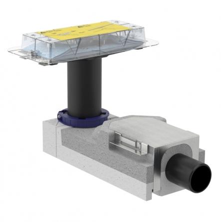 Geberit CLEANLINE набор для дренажных каналов, конструкции пола высотой от 90 мм, L30см - 154.150.00.1