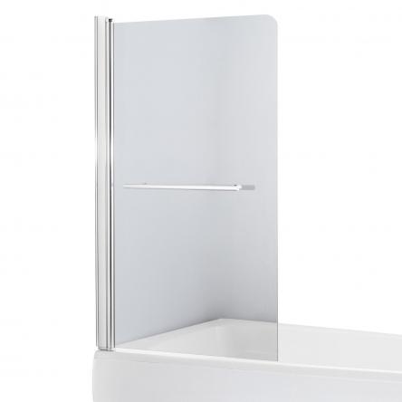 Eger Шторка на ванну 80*150см, стекло прозрачное, левая - 599-02L