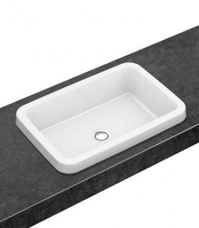 Villeroy&Boch ARCHITECTURA умывальник для установки на столешницу 61,5*41,5см, прямоугольный  (41676001)