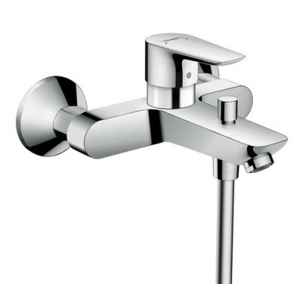Hansgrohe Talis E Смеситель для ванны, однорычажный, выступ 194 мм - 71740000