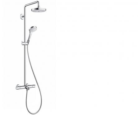 Hansgrohe Croma Select S 180 2-jet Showerpipe Душевая система для ванны - 27351400