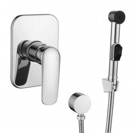 PRAHA new набор (смеситель скрытого монтажа с гигиеническим душем) - VR15030Z-BT