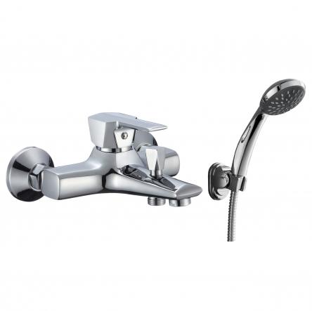 Rozzy Jenori ROCK смеситель для ванны однорычажный, хром 35 мм - RBZ078-3