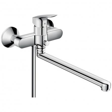 Hansgrohe Logis Смеситель для ванны с длинным изливом, хром - 71402000