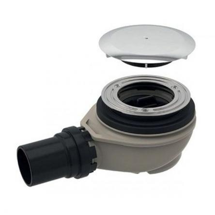 GEBERIT сифон для душевого поддона d90, с крышкой, хром глянец - 150.551.21.1