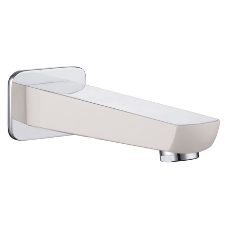 Imprese BRECLAV излив для смесителя скрытого монтажа для ванны, хром/белый - VR-11245W