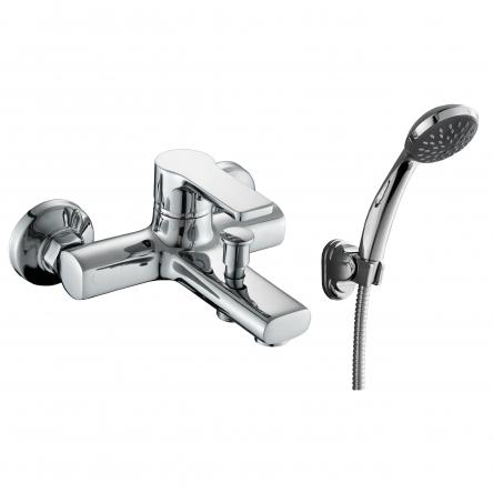 Rozzy Jenori DUCT смеситель для ванны однорычажный, хром 35 мм - RBZ079-3