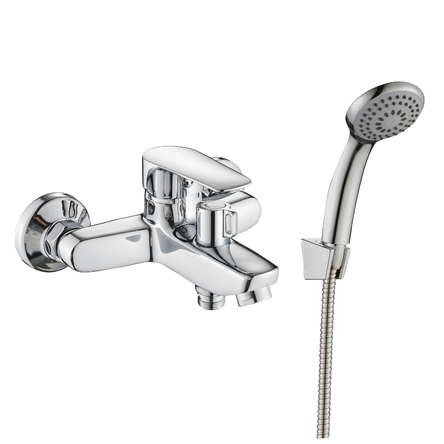 Rozzy Jenori LOTUS смеситель для ванны однорычажный, хром 35 мм - RBZZ002-3