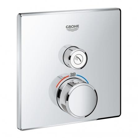 Grohe GROHTHERM SmartControl термостат для душа, встраиваемый без подключения шланга - 29123000