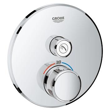 Grohe SMARTCONTROL смеситель для душа, внешняя часть, на 1 выход, хром - 29118000