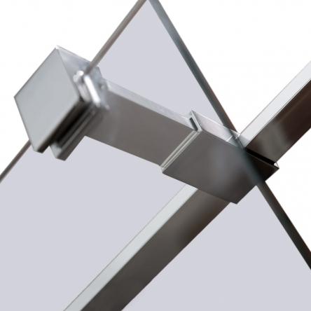 VOLLE Держатель стекла (Е) с креплениями, 200мм - 18-05E-20