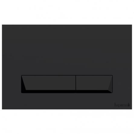 Imprese IMPRESEPAN,клавишасмыва, черный soft-touch, пластик - i8040B