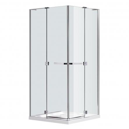 Eger RUBIK душевая кабина 100*100*190см квадратная (стекла + двери), распашные двери, стекло прозрачное 8мм - 599-334/1(2 коробки)