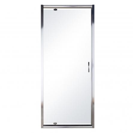 Eger Дверь в нишу 80*195см распашная, профиль хром, стекло прозрачное 5мм - 599-150-80(h)