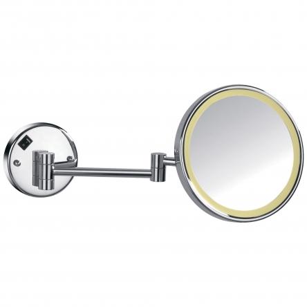 Imprese Зеркало косметическое, увеличение Х3, с подсветкой - 181322