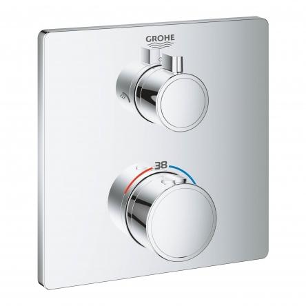 Grohe GROHTHERM термостат для душа с переключателем на 2 положения верхний/ручной душ - 24079000