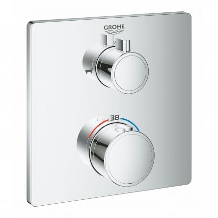 Grohe GROHTHERM термостат для душа с переключателем на 2 положения ванна/ душ - 24080000