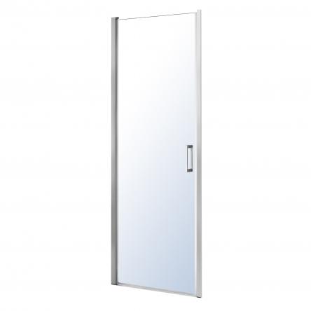 Eger Дверь в нишу 90*195см распашная, хром, стекло прозрачное 6мм - 599-156