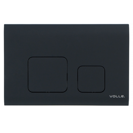 VOLLE CUADRA EVO клавиша смыва, черный soft-touch, пластик - 222113