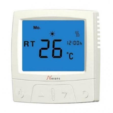 Nexans MILLITEMP CDFR-003 містить датчик температури повітря (вбудований) і поставляється з зовнішнім датчиком (монтуется в підлогу)