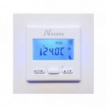 Nexans N-Comfort TD містить датчик температури повітря (вбудований) і поставляється з зовнішнім датчиком (монтуется в підлогу)